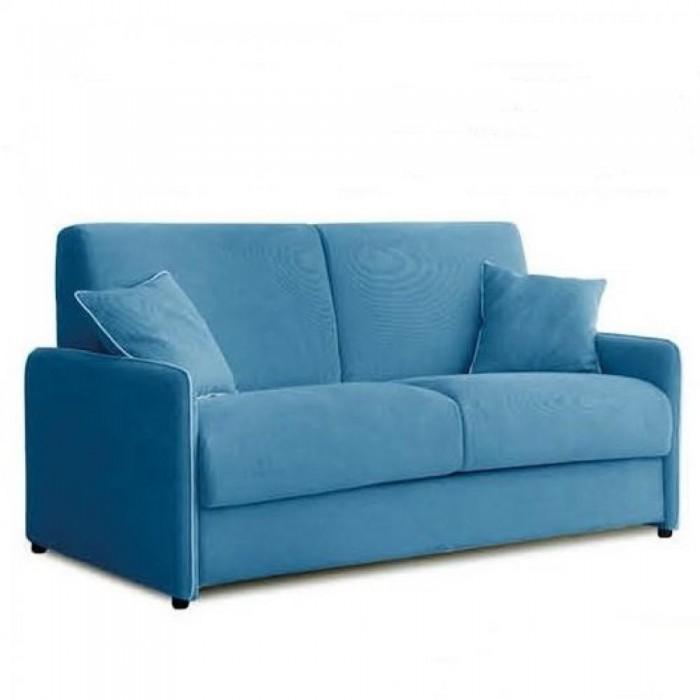 canapé convertible bleu gain de place