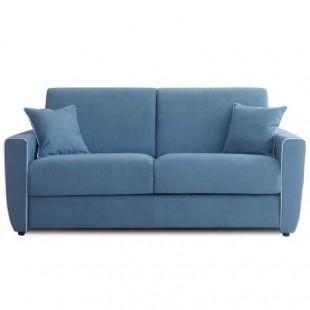 canapé convertible quotidien bleu