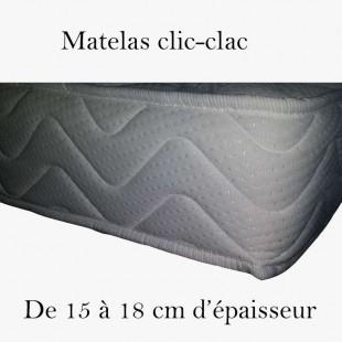 matelas clic-clac haut de gamme